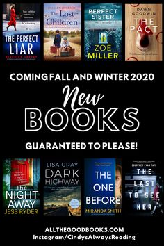 Coming this Fall and Winter, New Books Guaranteed to Please! - ALL THE GOOD BOOKS New Books, Good Books, Perfect Sisters, Dark Thoughts, Losing A Child, Precious Children, Know The Truth, Historical Fiction, Betrayal