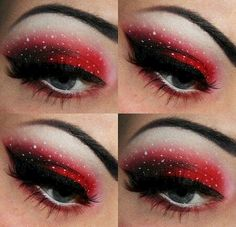 30 Top Christmas Makeup Ideas That You Will Look More Beautiful For Christmas Party https://montenr.com/30-top-christmas-makeup-ideas-that-you-will-look-more-beautiful-for-christmas-party/