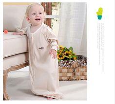 d474c4eae Saco de dormir del bebé recién nacido dos capas SleepSack bebé primavera y  otoño Chaleco de