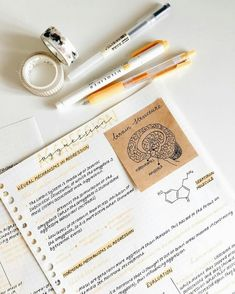 Science Notes College Study Inspiration Ideas For 2019 - toothbrush Cute Notes, Pretty Notes, Good Notes, College Notes, Study Organization, Bullet Journal Notes, School Study Tips, School Ideas, Study Hard