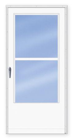 1000 ideas about storm doors on pinterest door design for Cheap retractable screen doors