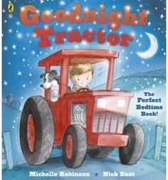 A little boy says goodnight to all his toys, but who is the favourite? Why, it's Tractor of course! With a rhyming text, atmospheric illustrations and plenty of animal sounds to join in with, this title helps your little darlings go to bed and stay there.
