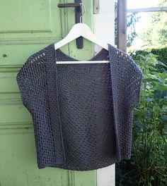 20 Gorgeous Free Crochet Cardigan Patterns for Women: Tunisian Crochet Cardigan Free Pattern
