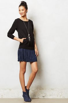 Dyad Sweatshirt Dress - anthropologie.com