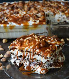 snickers ice cream sandwich cake