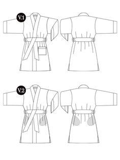 The Buchanan | Gather sewing patterns
