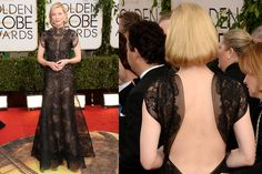 cate blanchet golden globes  fashion | Celebrity Red Carpet Style at the 2014 Golden Globe Awards