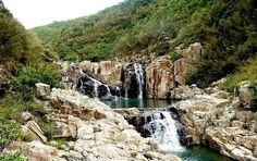 waterfall hikes hong kong - sheung luk stream