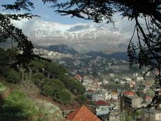 Winter in Lebanon's mountains