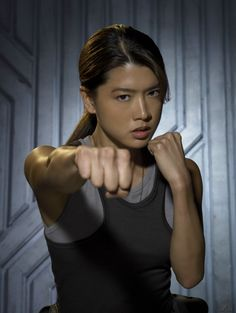 Grace Park- She is so pretty and such a badass on Hawaii Five-O