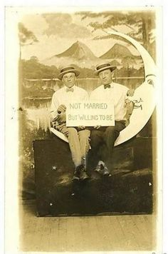 Not Married But Willing to Be ... Pride at the turn of the Century.