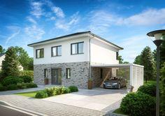 Stadtvilla Centro Klinker von Kern-Haus | inkl. Klinkerfassade