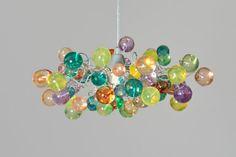 appendere il lampadario pastello bolle di yehudalight su Etsy