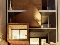 Je vous présente cet immeuble d'habitation de trois étages baptisé «The Sharifi-Ha » imaginé et réalisé par le studio d'architecture iranien Nextoffice.  L'incroyable originalité de cette bâtisse située à Téhéran réside dans ses modules de façade qui bougent pour libérer de l'espace ou s'orienter vers le soleil. Vous pouvez moduler votre espace de vie en fonction de vos envies.