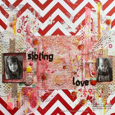 Riikka Kovasin - Paperiliitin: Sibling Love - Scrap around The World / Scrap365