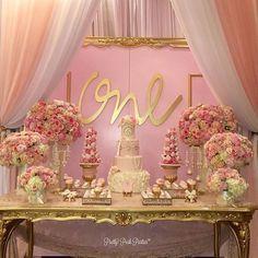 "Gorgeous ""one"" year old birthday party!! By  #kidsevent #kidsdecor #kidsparties #storybookbliss #instadaily #interiordesign #decorideas #birthdayparties"