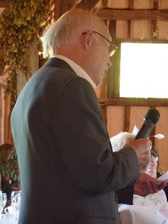 The Secrets to Writing a Memorable Father of the Groom Speech