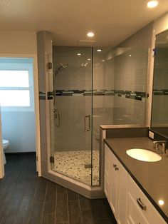 Master Shower and Floor