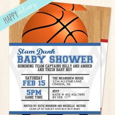 Save this pin -  basketball baby shower invitations wording - Basketball Baby Shower is Not Hard to Put Together – Home Party Theme Ideas