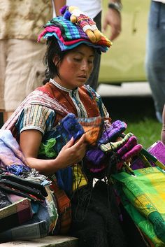 Mexican Artist from Chiapas by Aimee Loperena, via Flickr
