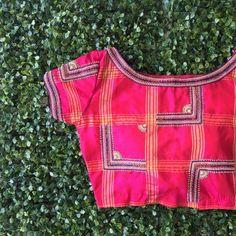Latest Maggam Work Blouse Designs 2018 by Nyshka Design Studio boutique located in coimbatore, tamilnadu. Designer blouses for silk sarees Blouse Back Neck Designs, Simple Blouse Designs, Silk Saree Blouse Designs, Stylish Blouse Design, Bridal Blouse Designs, Blouse Patterns, Silk Sarees, Blouse Neck, Dress Designs