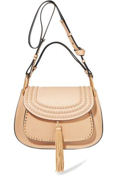 Sand leather (Calf) Snap-fastening front flap Designer color: Pearl Beige Comes with dust bag Weighs approximately 2.9lbs/ 1.3kg Made in Italy