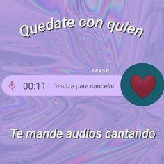 Me rio xd Tumblr Quotes, Love Quotes, Funny Quotes, Sweet Words, Love Words, Tumblr Love, Love Phrases, Cute Memes, Spanish Quotes