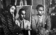 Amrita Sher-Gil and Yusuf Ali Khan