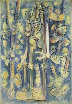 "Wifredo Lam  Cuban, 1902-1982, Study for ""The Jungle"""