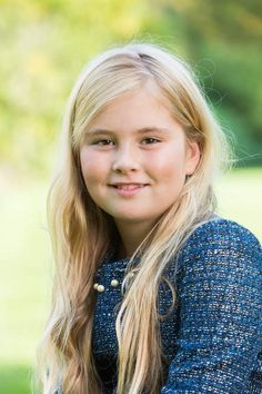 Princess Amalia, a few days before her 11th birthday, December 2014
