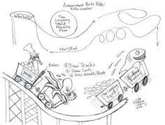 roller coaster coloring page roller coaster worksheets and coasters. Black Bedroom Furniture Sets. Home Design Ideas