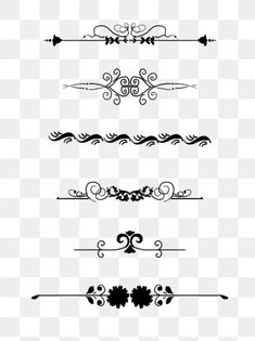 European border pattern dividing line commonly used retro commercial elements PNG and PSD Wedding Card Maker, Wedding Cards, Happy Birthday Font, Wedding Symbols, Wedding Background Images, Frame Template, Card Templates, Love Png, Photo Frame Design