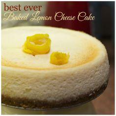 Indonesian Medan Food: Best Ever Baked Lemon Cheese Cake