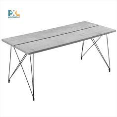 Jedálenský stôl AANT-0302 bol inšpirovaný najnovšími dizajnovými trendmi a je skvelou voľbou pri výbere zariadenia do jedálne, jedálenského kúta alebo kuchyne. Elegantné dizajnové spojenie MDF dosky v dekore betónu a čiernych kovových nôh, ktoré môžeme doporučiť aj ako zariadenie kaviarne alebo reštaurácie. Jedálenský stôl ponúka pri rozmeroch dosky stola 178 x 78 cm dostatok miesta pre 6 osôb.