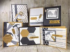 Easy Masculine Cards