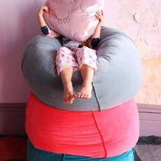 Pink Velvet, Bean Bag Chair, Diva, Collection, Home Decor, Decoration Home, Room Decor, Beanbag Chair, Divas
