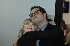 Josh Gad and Emma Stone on Jay Leno 1.8.13 / #1600Penn