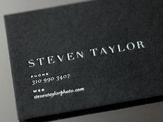 shot 1299871088 15 Sleek Examples of Black Business Cards