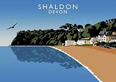 Shaldon, Devon Art Print (A3) Chequered Chicken https://www.amazon.co.uk/dp/B06Y42QT63/ref=cm_sw_r_pi_dp_x_Bj55ybRV3JW76