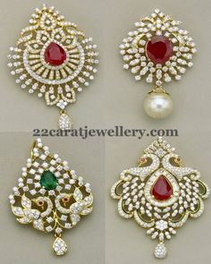1000+ images about Gold, Diamond and Gemstone Pendant Designs on ...