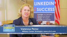 Great quick tips for #militarytransition candidates on using LinkedIn, including content they should include and the value of #endorsements.