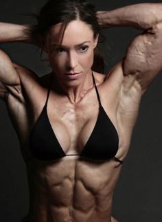 #fitness #muscle #motivation #girlpower #muscular #woman #bodybuilding #arms #biceps #triceps #flex #abs