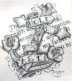Prints(picture,anchor,nautical,sea,ocean,roses,cross,scripture,bible verse,old school,christian,religious,church,gift,fair,art,design). $15.00, via Etsy.