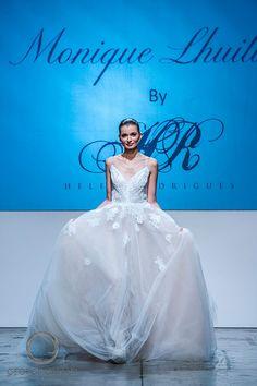 "Monique Lhuillier ""Severine"" available at Helen Rodrigues Bridal, Sydney as show at Australian Bridal Fashion week (http://www.bridalfashionweekaustralia.com.au/). Photo credit: George Gittany http://www.starnow.com.au/georgegittany"