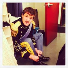 """Pedro Pascal as Don John; Shakespeare in Park """"Much Ado About Nothing""""  https://www.facebook.com/media/set/?set=a.1486456434921069.1073741843.1377807022452678&type=1"""