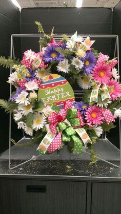 Happy Easter wreath...Robin Evans