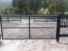 mesh pasture gate