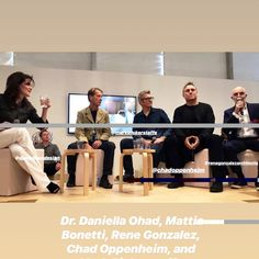 What does it mean to be a Modernist today? I have moderated a talk at Design Miami/ 2018 Design Miami, Educational Programs, It's Meant To Be
