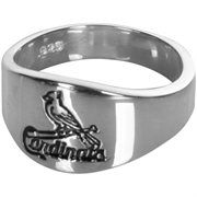 St. Louis Cardinals Logo Sterling Silver Ring
