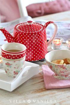 Tea Time ~ Polka dots